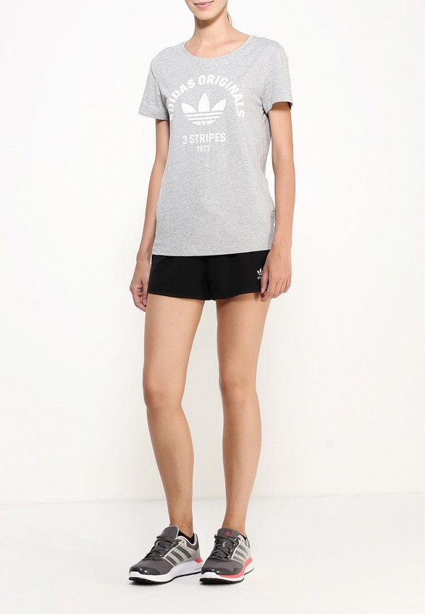 Женские спортивные шорты Adidas Originals (Адидас Ориджиналс) AY8125: изображение 2