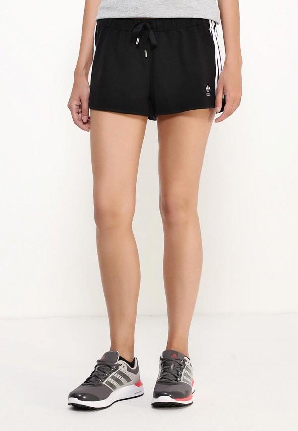 Женские спортивные шорты Adidas Originals (Адидас Ориджиналс) AY8125: изображение 3