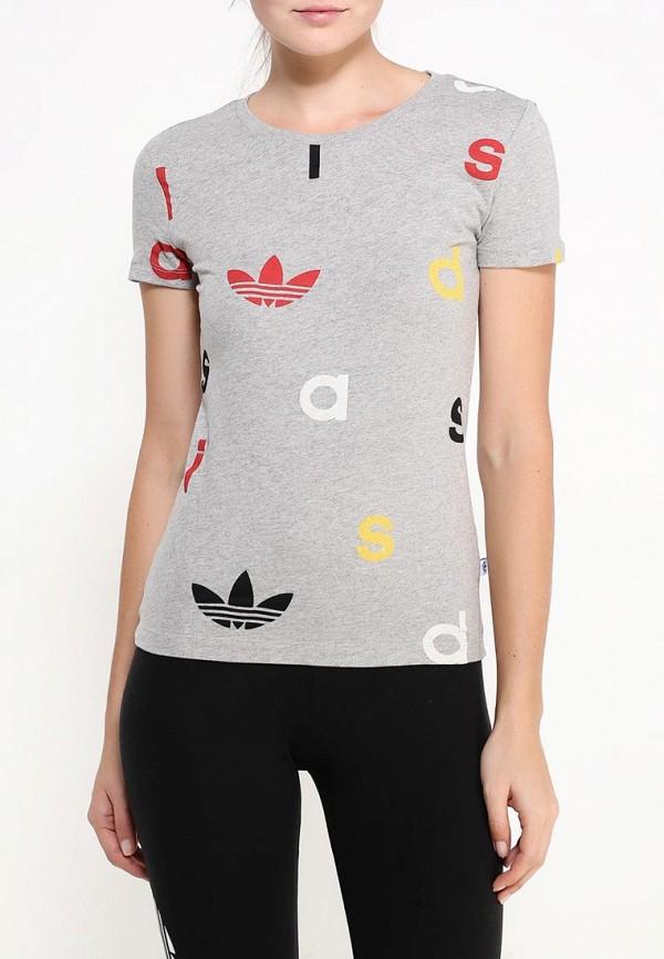 Футболка с коротким рукавом Adidas Originals (Адидас Ориджиналс) AJ7729: изображение 3