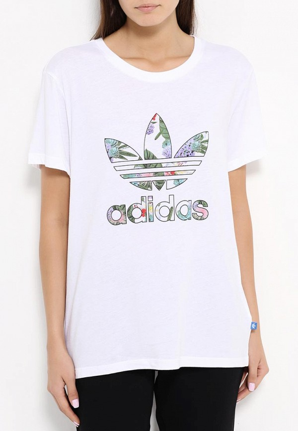 Футболка с коротким рукавом Adidas Originals (Адидас Ориджиналс) AJ8356: изображение 3