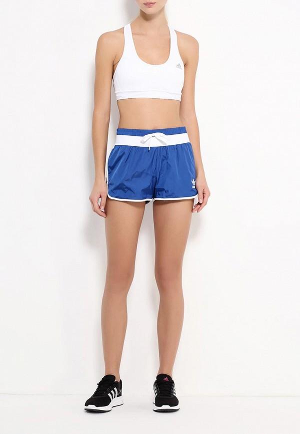 Женские спортивные шорты Adidas Originals (Адидас Ориджиналс) AJ8852: изображение 2