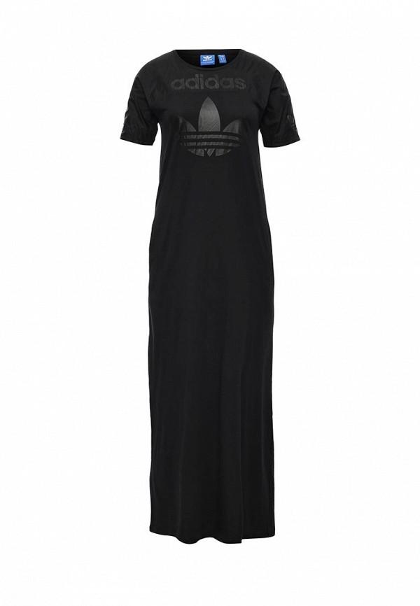 Повседневное платье Adidas Originals (Адидас Ориджиналс) AJ8877: изображение 1