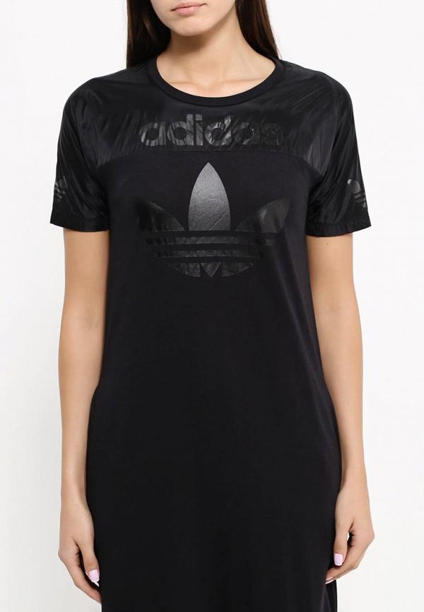 Повседневное платье Adidas Originals (Адидас Ориджиналс) AJ8877: изображение 4