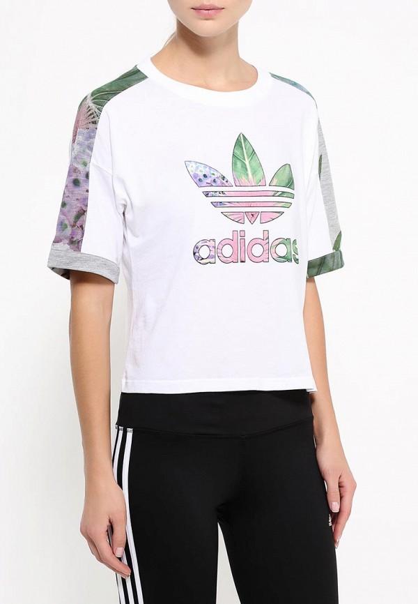 Футболка с коротким рукавом Adidas Originals (Адидас Ориджиналс) AJ8888: изображение 3