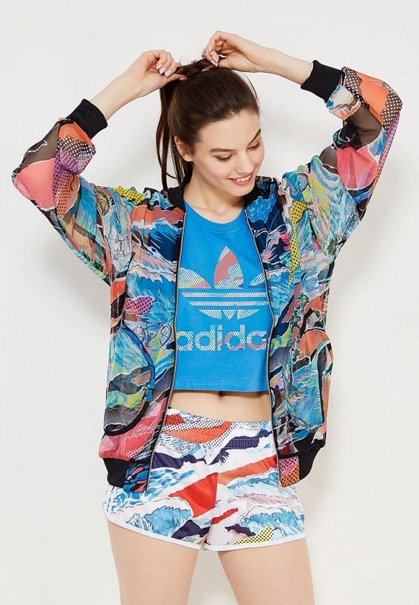 Олимпийка adidas Originals adidas Originals AD093EWQIN31 чехол для карточек авокадо дк2017 093