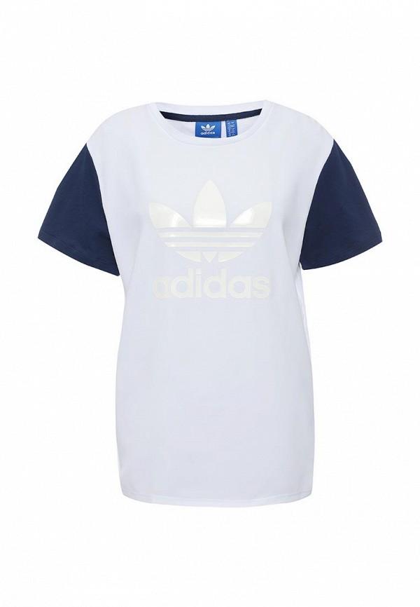 Футболка adidas Originals adidas Originals AD093EWQIN48 adidas originals adidas originals ad093emhes91