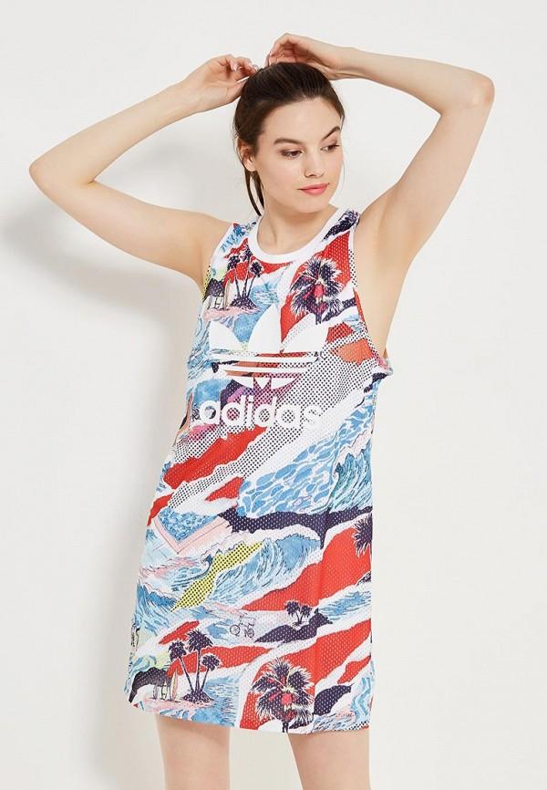 Платье adidas Originals adidas Originals AD093EWQIN96 чехол для карточек авокадо дк2017 093