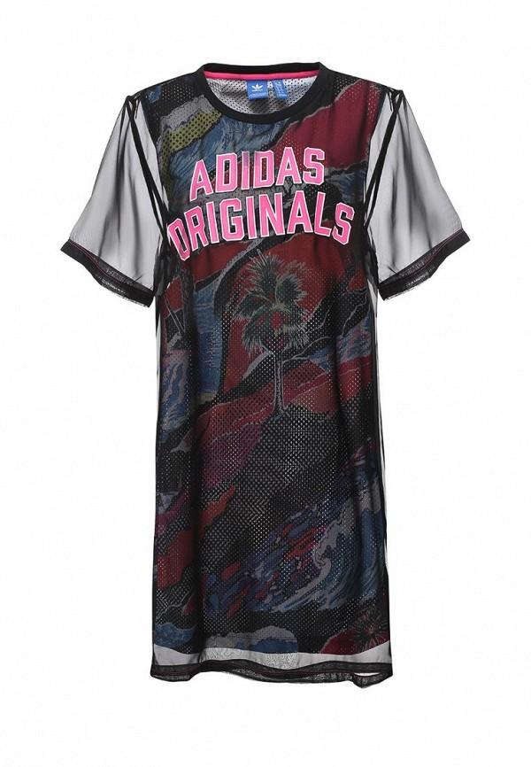 Платье adidas Originals adidas Originals AD093EWQIO37 свитшот adidas originals adidas originals ad093emqil68