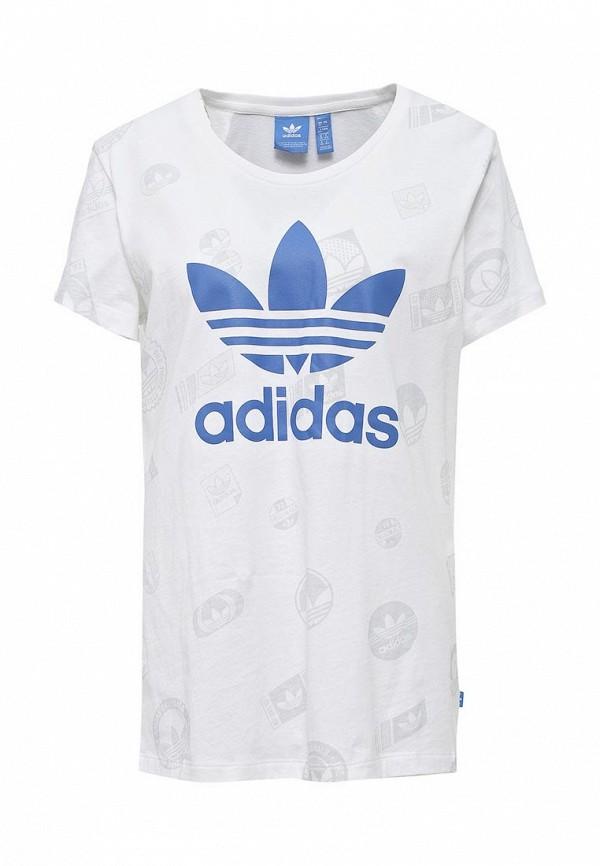 Футболка adidas Originals adidas Originals AD093EWQIO55 adidas originals adidas originals 2832534