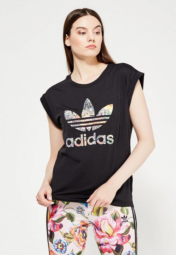 Футболка adidas Originals adidas Originals AD093EWUNQ50 adidas originals topanga core black gum