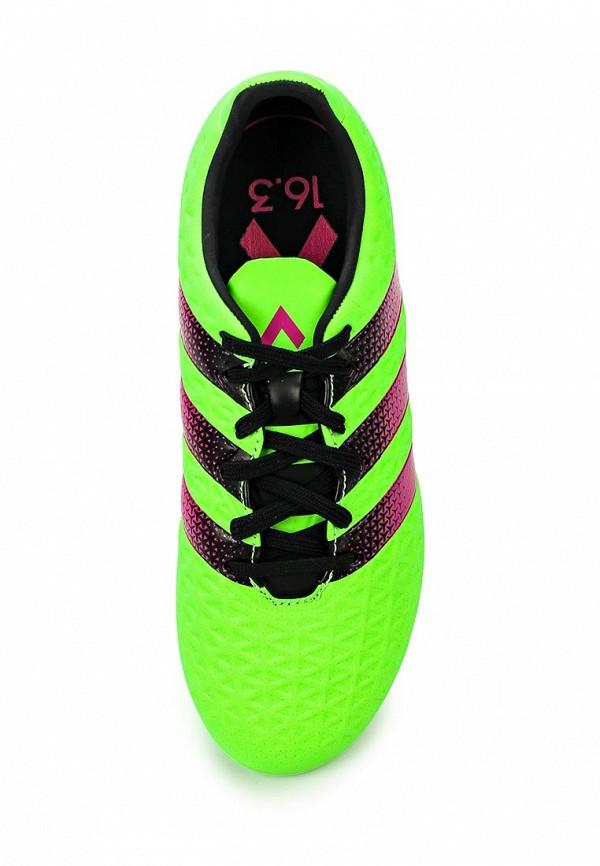 Кроссовки для мальчиков Adidas Performance (Адидас Перфоманс) AF5154: изображение 4