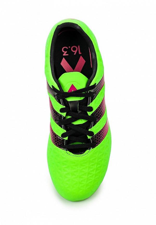 Кроссовки для мальчиков Adidas Performance (Адидас Перфоманс) AF5186: изображение 4