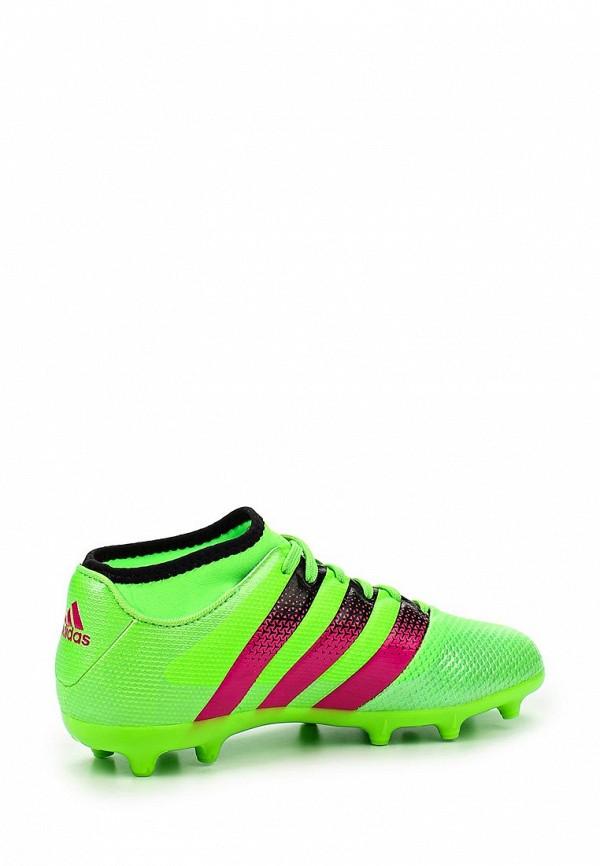 Кроссовки для мальчиков Adidas Performance (Адидас Перфоманс) AQ2565: изображение 2