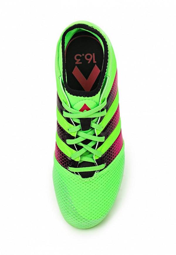 Кроссовки для мальчиков Adidas Performance (Адидас Перфоманс) AQ2565: изображение 4