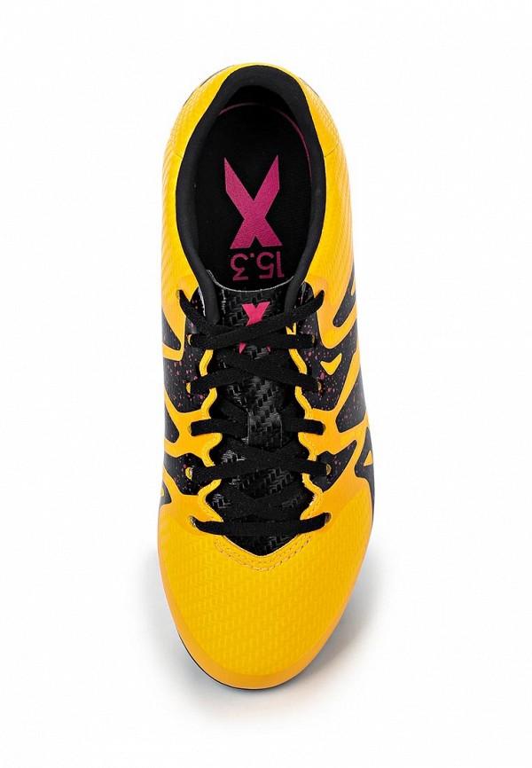Кроссовки для мальчиков Adidas Performance (Адидас Перфоманс) S74637: изображение 4
