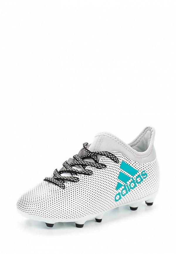 Купить Adidas AD094ABUOB34, Бутсы adidas, белый, Осень-зима 2017/2018