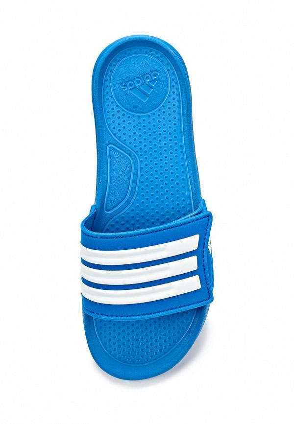 Сланцы для мальчиков Adidas Performance (Адидас Перфоманс) D67499: изображение 3