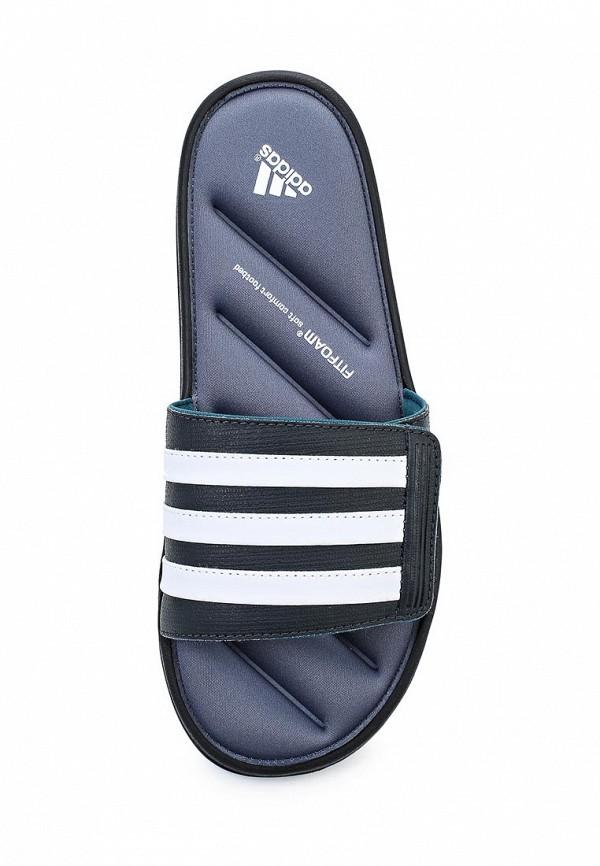 Мужские сланцы Adidas Performance (Адидас Перфоманс) B33584: изображение 4