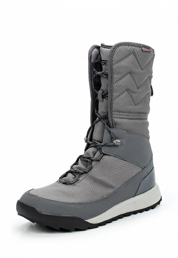 Купить Ботинки adidas, adidas AD094AWUOY57, серый, Осень-зима 2017/2018