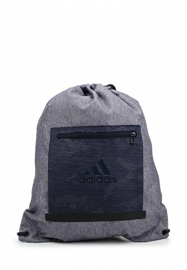 Мешок adidas Performance. Цвет: серый