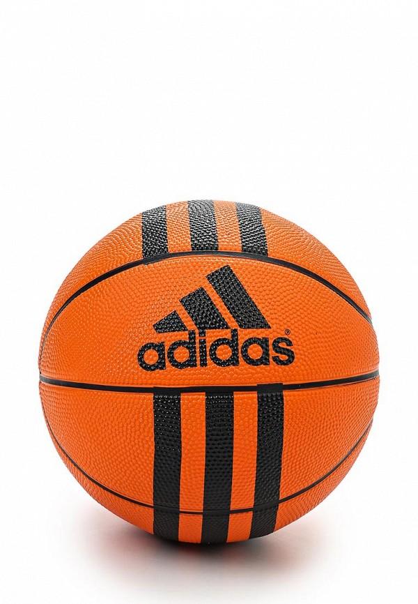 Мяч баскетбольный adidas Performance 3 STRIPES MINI