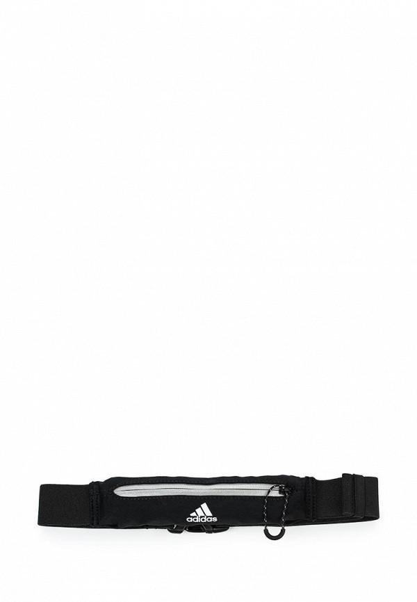 Пояс для бега adidasПояс для бега adidas. Цвет: черный. Материал: текстиль.Сезон: Осень-зима 2017/2018. С бесплатной доставкой и примеркой на Lamoda.<br><br>Цвет: черный<br>Коллекция: Осень-зима 2017/2018<br>Внешний материал: текстиль<br>Сезонность: мульти<br>Страна-изготовитель: Вьетнам<br>Пол: unisex