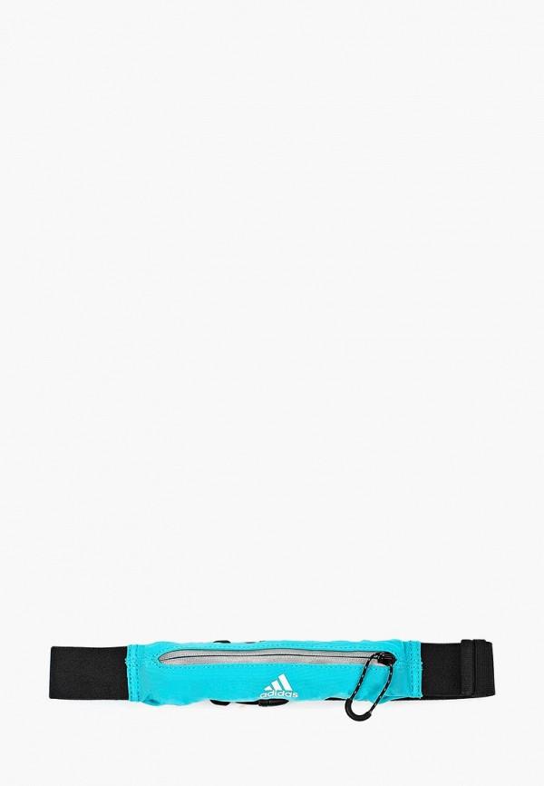 Купить Пояс для бега adidas, adidas AD094DUQML79, бирюзовый, Весна-лето 2017