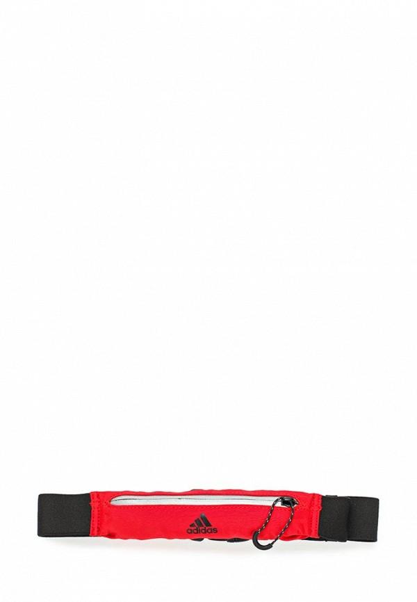 Купить Пояс для бега adidas, adidas AD094DUUNY08, красный, Осень-зима 2017/2018
