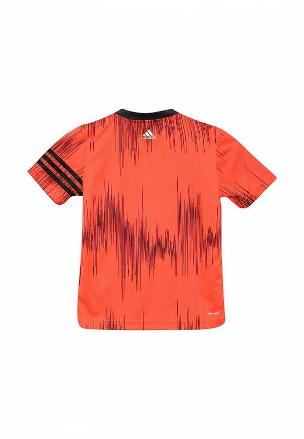 Футболка с коротким рукавом Adidas Performance (Адидас Перфоманс) AJ6166: изображение 2
