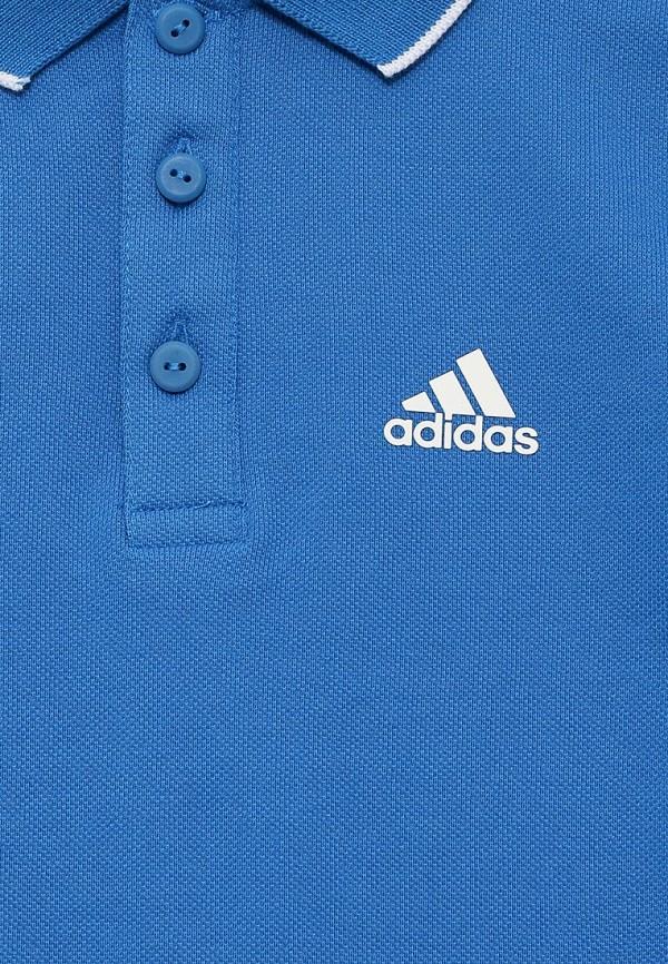 Поло Adidas Performance (Адидас Перфоманс) AK1910: изображение 3