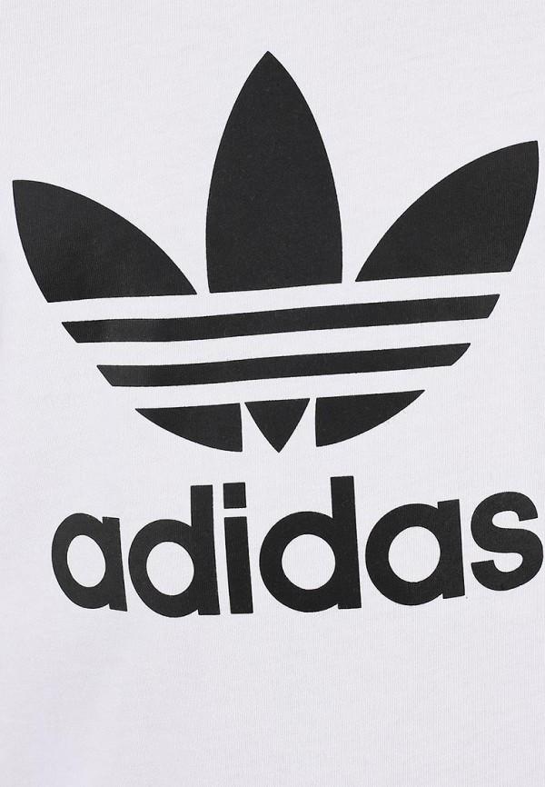 Футболка с надписями Adidas Originals (Адидас Ориджиналс) X41281: изображение 4