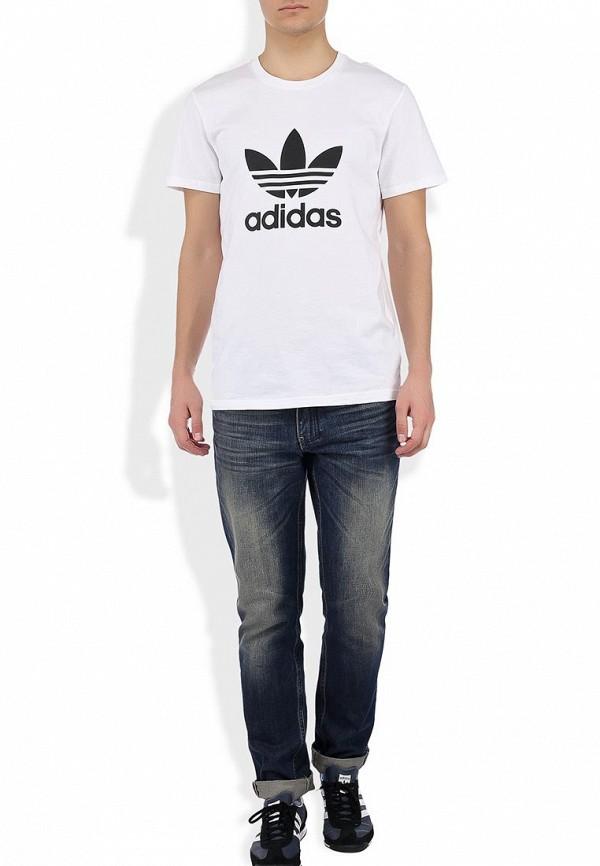 Футболка с надписями Adidas Originals (Адидас Ориджиналс) X41281: изображение 6
