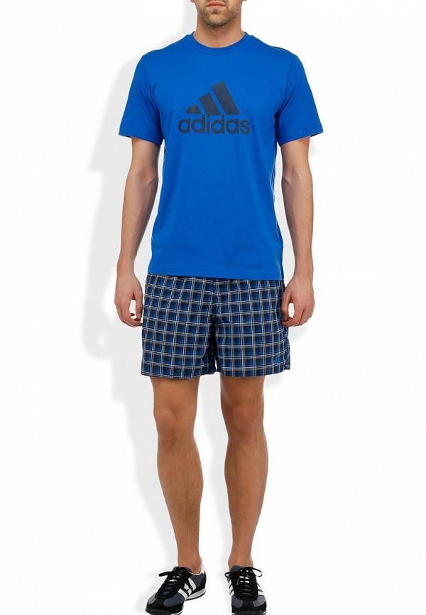 Мужские спортивные шорты Adidas Performance (Адидас Перфоманс) Z20878: изображение 6