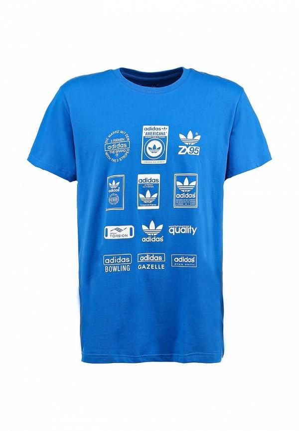 Спортивная футболка Adidas Originals (Адидас Ориджиналс) G86577: изображение 1