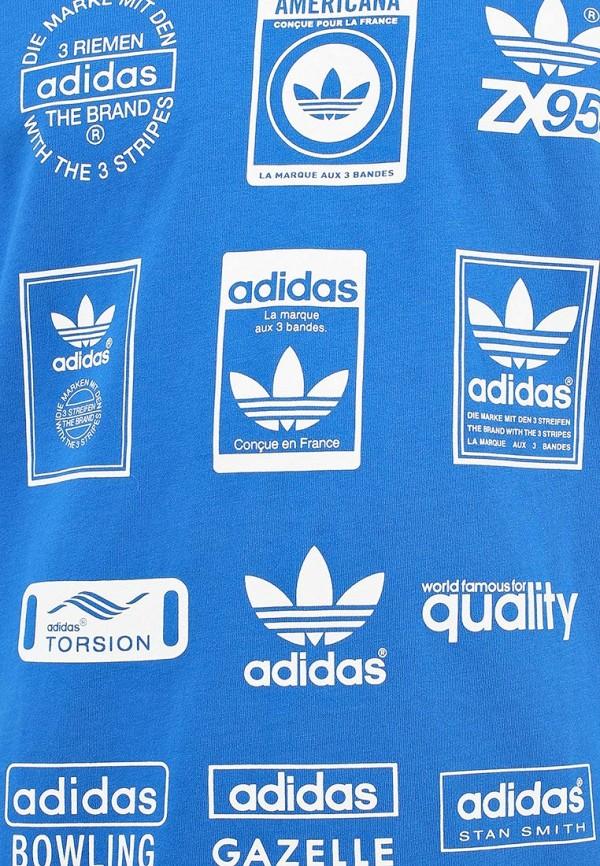 Спортивная футболка Adidas Originals (Адидас Ориджиналс) G86577: изображение 4