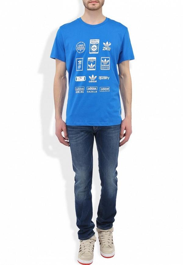 Спортивная футболка Adidas Originals (Адидас Ориджиналс) G86577: изображение 6