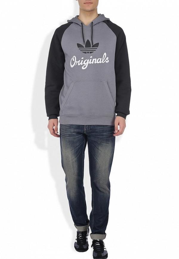 Флисовая толстовка Adidas Originals (Адидас Ориджиналс) G84738: изображение 3
