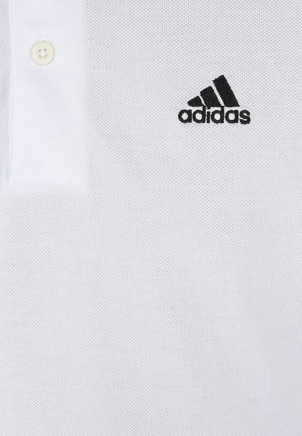 Мужские поло Adidas Performance (Адидас Перфоманс) X19179: изображение 3