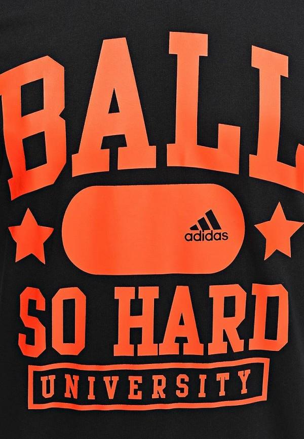 Футболка с надписями Adidas Performance (Адидас Перфоманс) M31012: изображение 4