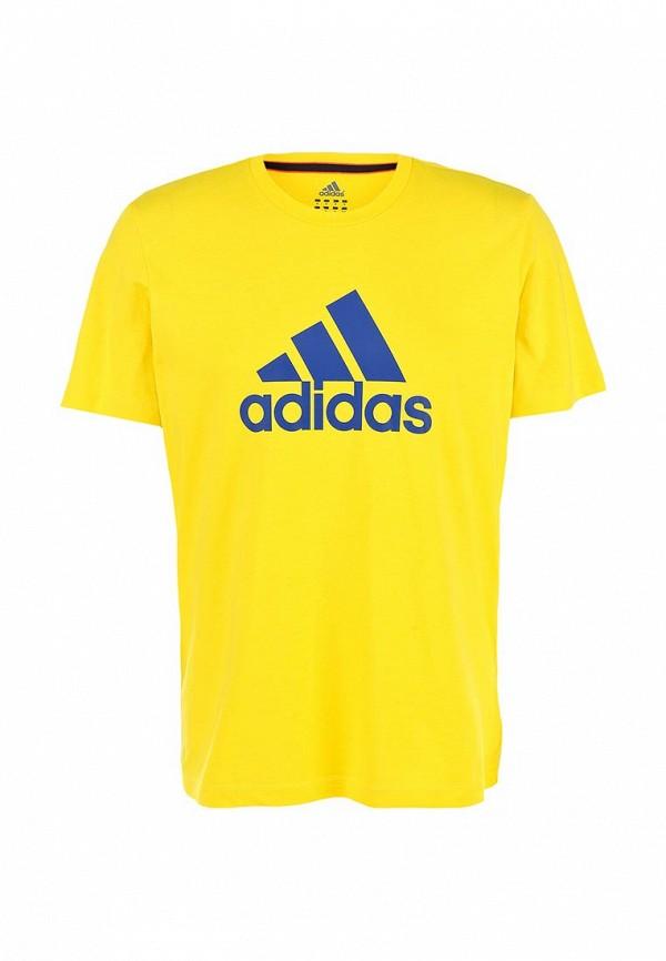 Футболка с надписями Adidas Performance (Адидас Перфоманс) M35964: изображение 1