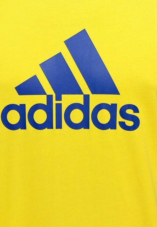 Футболка с надписями Adidas Performance (Адидас Перфоманс) M35964: изображение 3