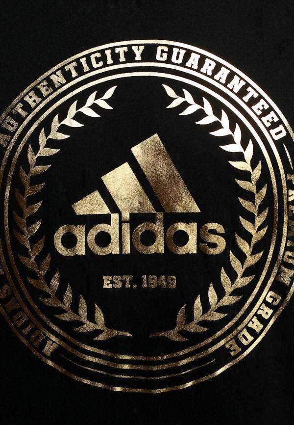 Футболка с надписями Adidas Performance (Адидас Перфоманс) M68934: изображение 4