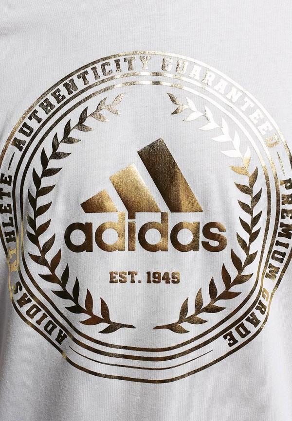 Футболка с надписями Adidas Performance (Адидас Перфоманс) M68935: изображение 3