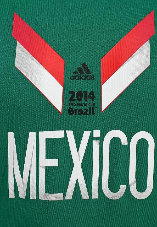 Футболка с надписями Adidas Performance (Адидас Перфоманс) F39508: изображение 2