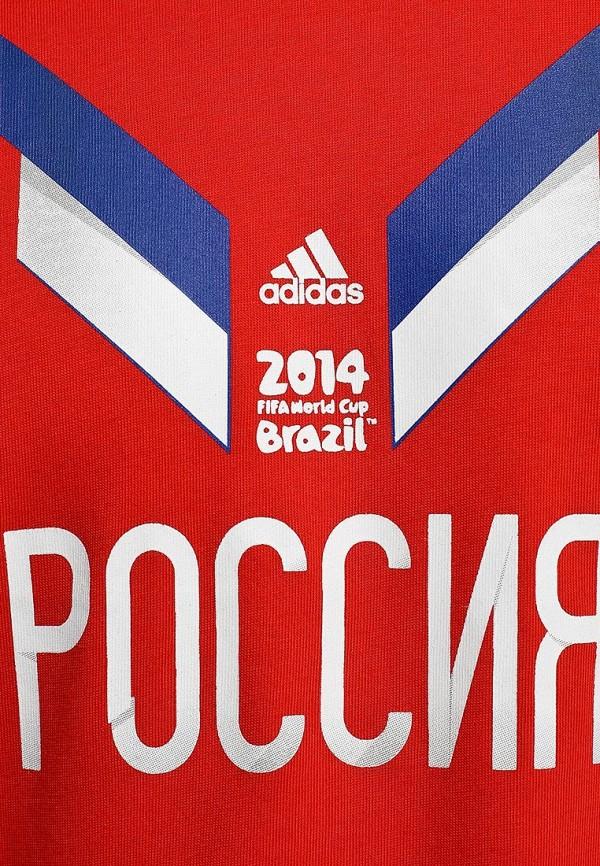 Футболка с надписями Adidas Performance (Адидас Перфоманс) F39512: изображение 3