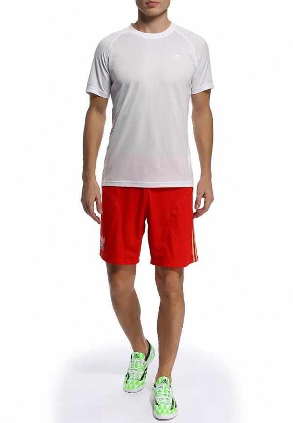 Мужские спортивные шорты Adidas Performance (Адидас Перфоманс) X11919: изображение 4