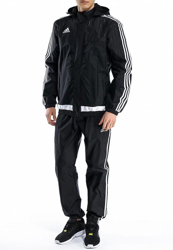 Мужские спортивные брюки Adidas Performance (Адидас Перфоманс) M64042: изображение 3