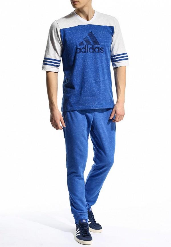 Мужские спортивные брюки Adidas Performance (Адидас Перфоманс) S18010: изображение 3