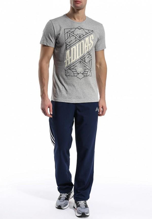 Мужские спортивные брюки Adidas Performance (Адидас Перфоманс) S18224: изображение 3
