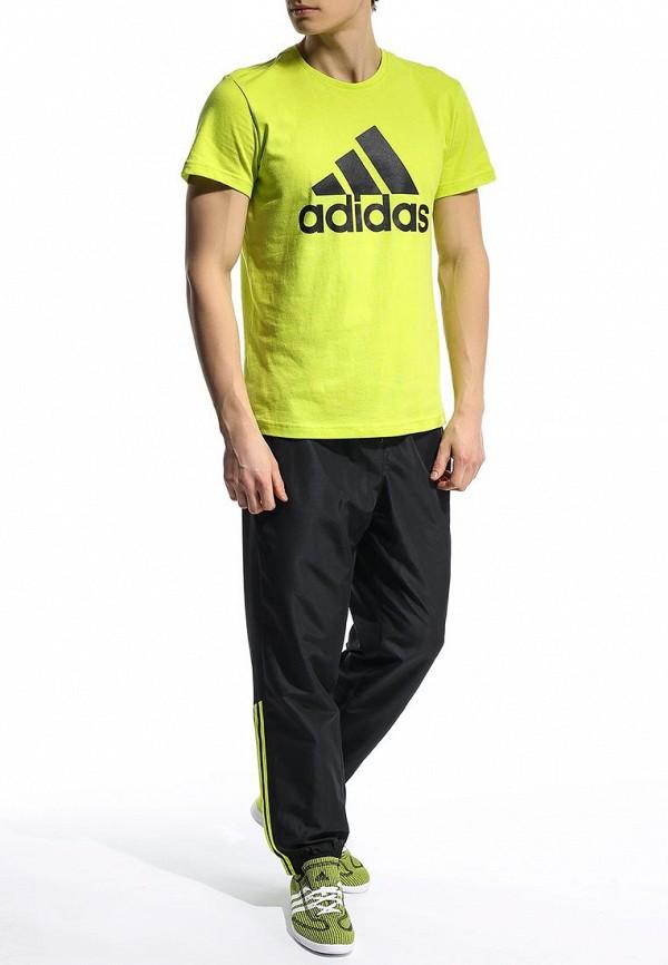 Мужские спортивные брюки Adidas Performance (Адидас Перфоманс) S90571: изображение 3